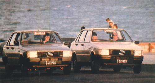 Test a Fiat Duna S y Fiat Duna SD - 1989..