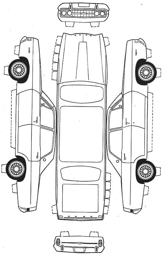 Moldes de autos para armar - Imagui