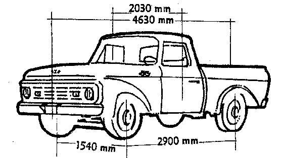autos con historia 21  ford f-100 - autos y motos