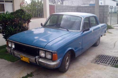 Autos argentinos en Cuba