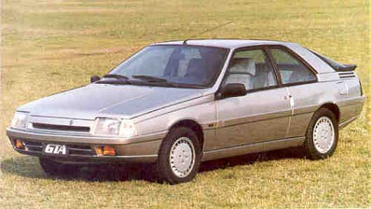 1980 Renault Fuego. 265.257 Renault Fuego.