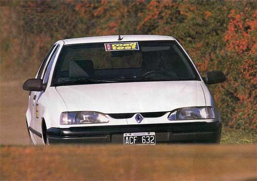 Renault 19 diesel, test del ayer