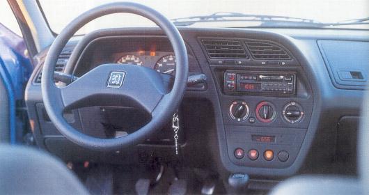 Picture of 1995 Peugeot    306    interior