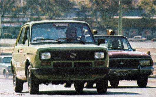 FIAT Test (1): Brio