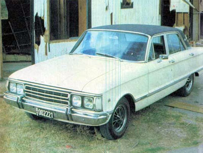 Ford Falcon Futura 221 SP