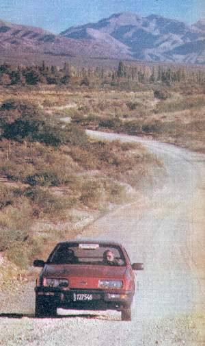 Test Ford Sierra XR4 - 1987
